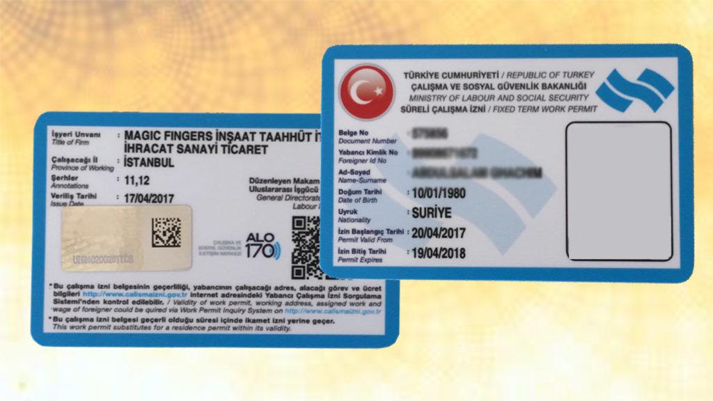 اقامة-العمل-في-تركيا